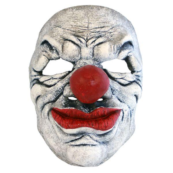 Skummel klovnemaske - Skumle halloween masker