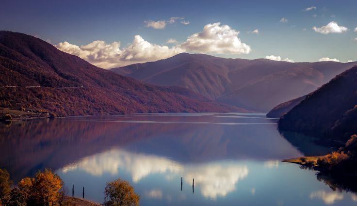 Zhinvali Lake, Georgia by John Wright on 500px