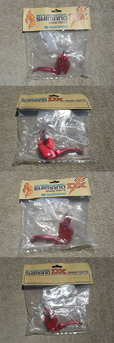 Brake Levers 100245: Shimano Dx Brake Lever Red N.O.S. In The Bag, Dia Compe Bmx, 20, 24, 26 -> BUY IT NOW ONLY: $35 on eBay!