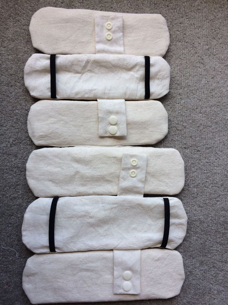 Handmade Reusable Cloth Fabric Period Menstrual Sanitary Pads Set . 6 pads set  | eBay