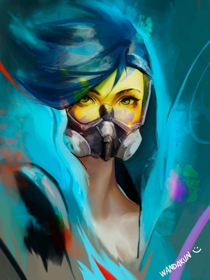 Image result for tracer graffiti fan art