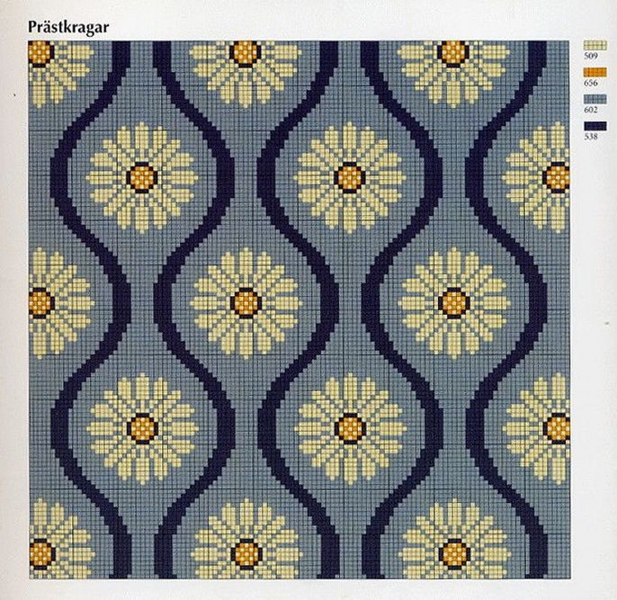 Ingrid Plum - This chart is a multi functional craft pattern. Uses include : cross stitch, crochet, knitting motifs, knotting, loom beading, Perler beading, weaving and tapestry design, pixel art, micro macrame, friendship bracelets, and anything involving the use of a charted pattern.