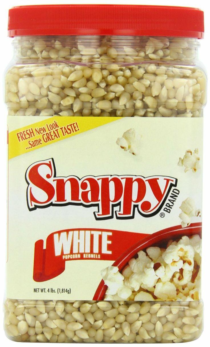 Snappy White Popcorn, 4 Pounds...