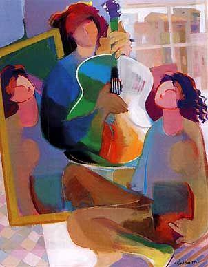 The Mirror by artist Hessam at Pierside Gallery