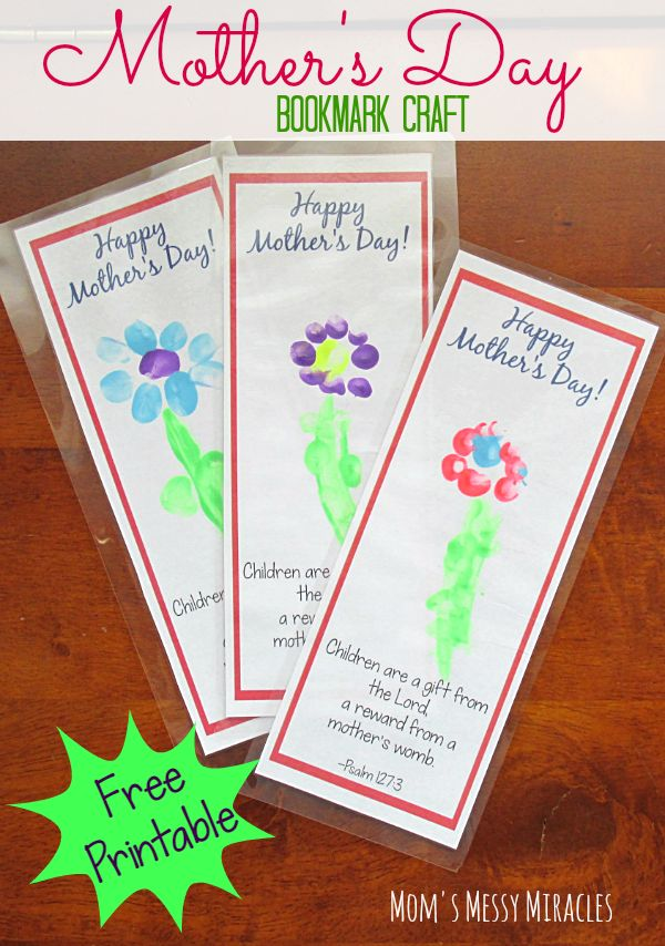 Mothers Day Flower Coupon Book Craft