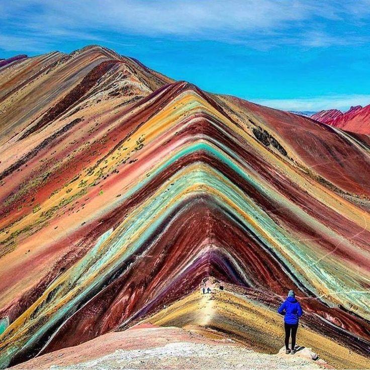 Montanha arco-íris, Peru :O
