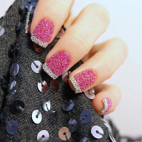 Decoracion de uñas.
