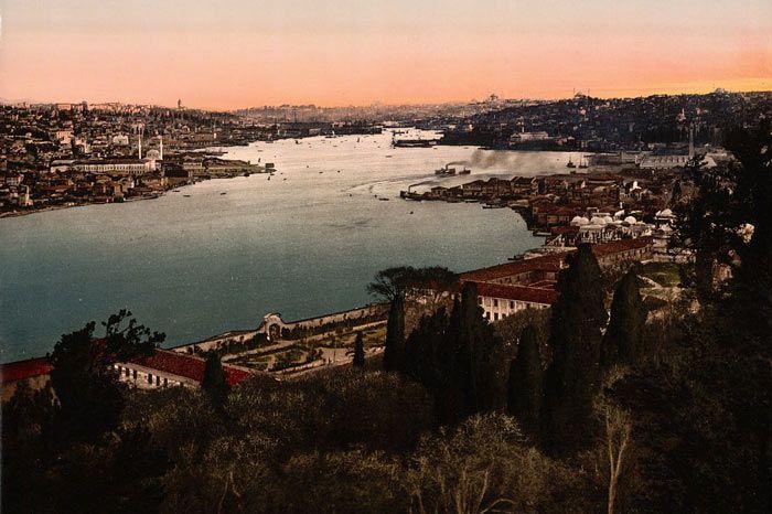 İstanbul haliç manzarası