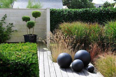 Black Concrete Balls Gardens Gorgeous Pinterest Gardens Beautiful And Paint