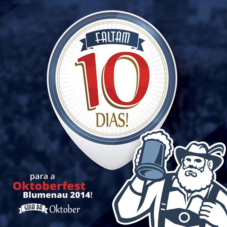 Falta pouco para a festa mais alemã das Américas. Vem saber mais sobre a #Oktoberfest: www.guiadaoktober.com