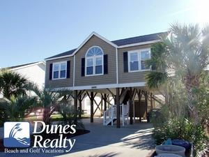 Garden City Beach Rental Beach Home: Tahiti Sweetie | Myrtle Beach Vacation  Rentals By Dunes