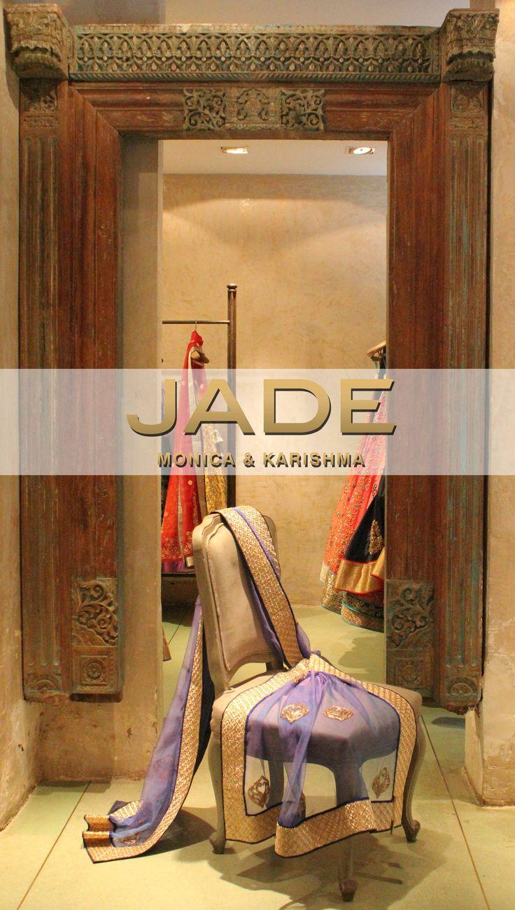 Dreamy dupattas at JADE! #JADEbyMK #style #India
