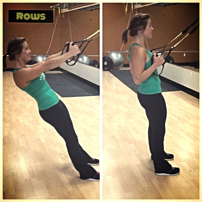 TRX and BOSU Body Blast Workout - TRX Rows- Anytime Fitness
