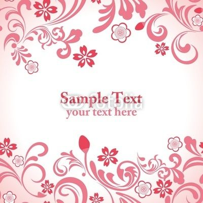 """Fotolia.comのロイヤリティフリーのベクター、""""Seamless Cherry Blossoms Pattern""""(作者:yo-、作品ID:#30001843)"""