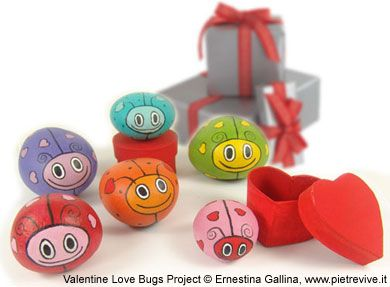 Valentine Love Bugs Project © Ernestina Gallina, www.pietrevive.it