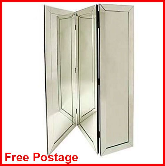 Large Floor Standing Mirror Folding Contemporary Bed Room Furniture Sewing Panel