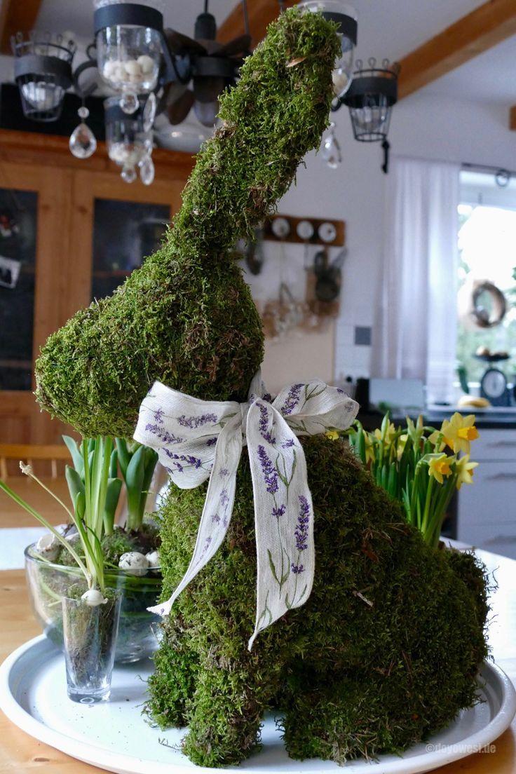 Hase aus Moos – #aus #Hase #Moos