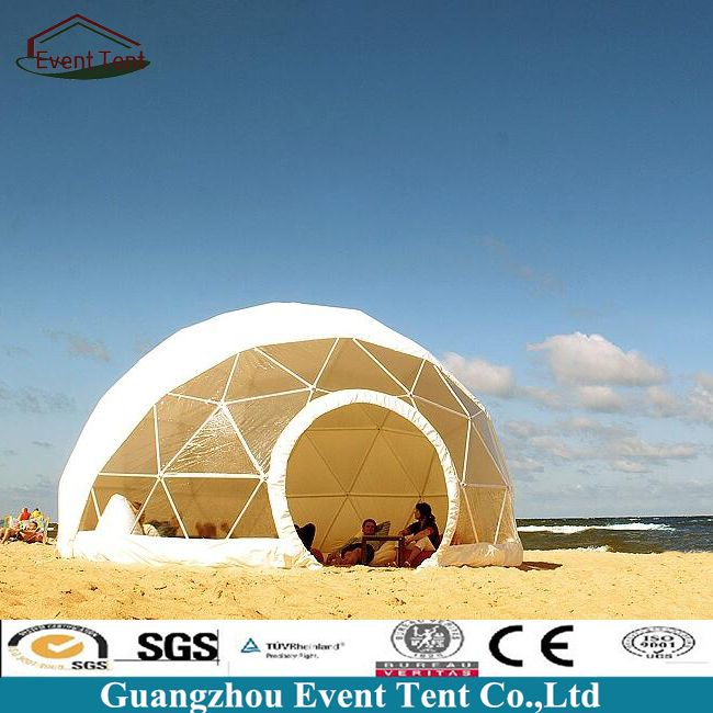 Temporary Banquet 30m Diameter Party Banquet Dome Tent Geodesic