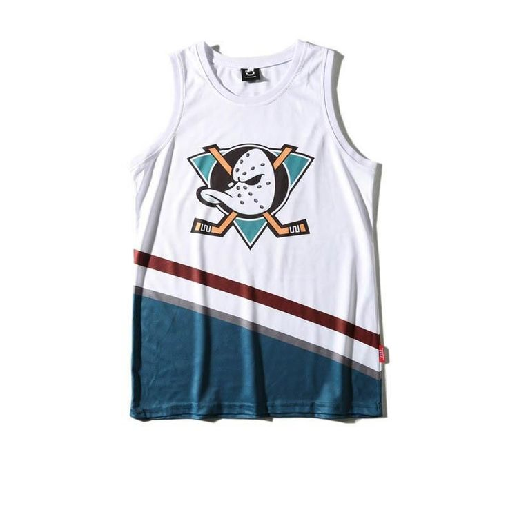 Mighty Ducks Charlie Conway Basketball Jersey #vestsmen