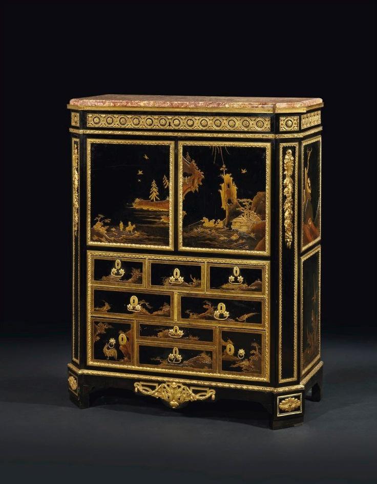 Secrétaire à Abattant Du0027époque Louis XVI. Estampille De Martin Carlin, Vers  1780 · French FurnitureFine ...