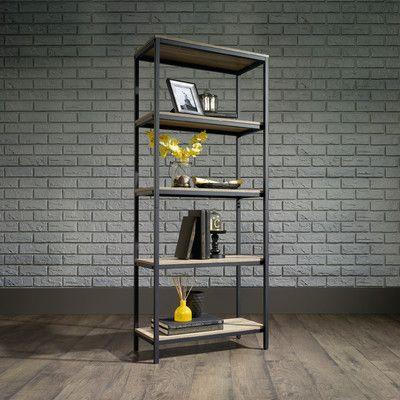 "Laurel Foundry Modern Farmhouse Ermont 57"" Etagere Bookcase"