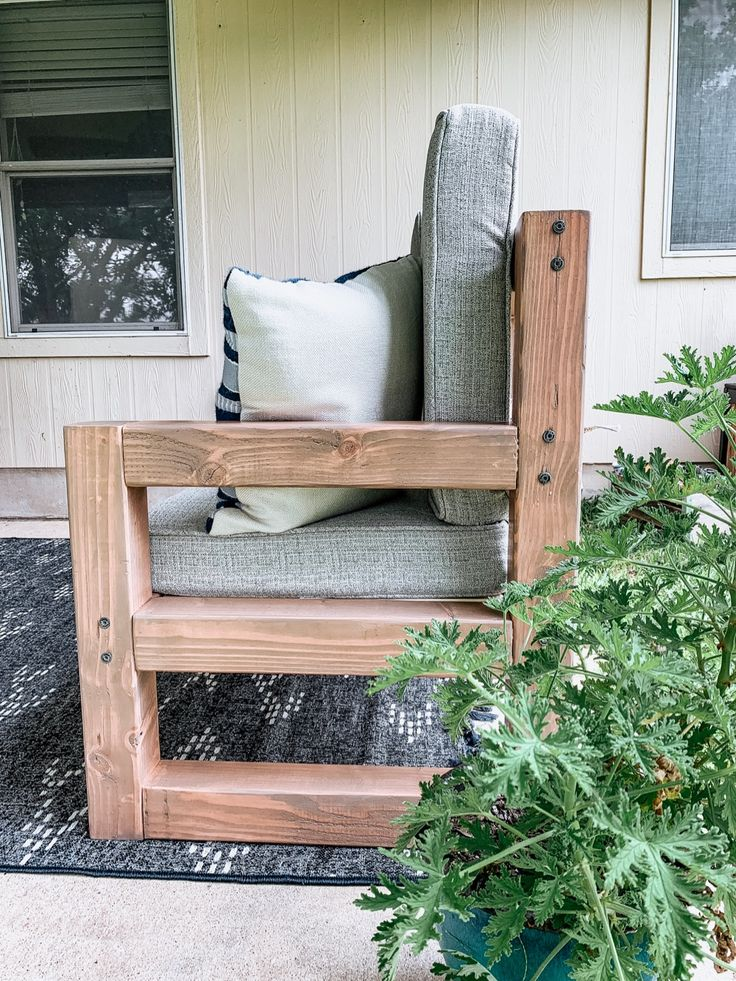 How to build a diy outdoor couch a full tutorial for