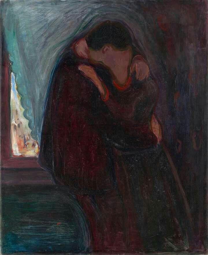 Tete-a-Tete Edvard Munch Print Reproduction Fine Art Print