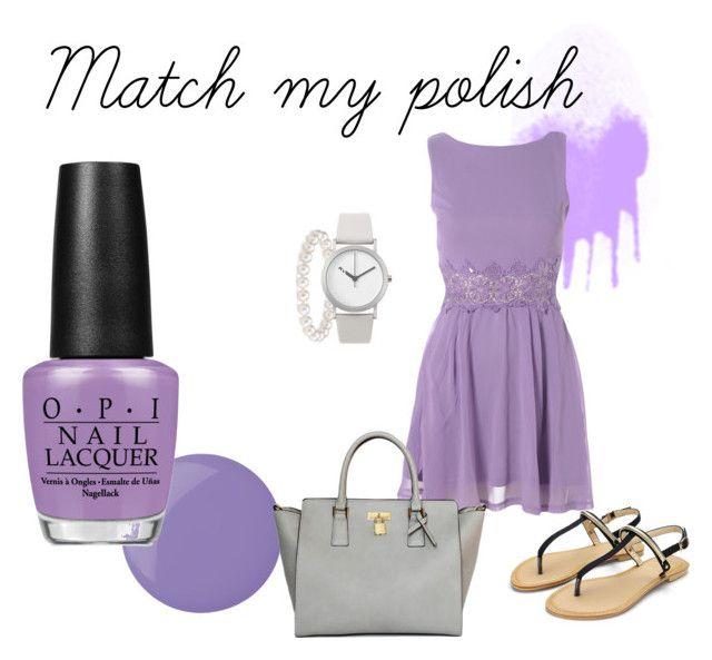 """Match my polish - purple"" by michellewl on Polyvore"
