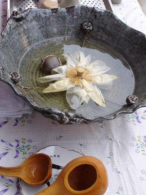 Lotus Tea. Lotus flower tea (yocca). Aug, 2012