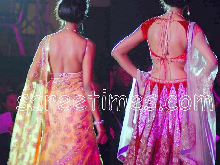 Saree Blouse Styles | 2010 Latest Saree Blouse Designs for Back | sareetimes