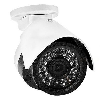 LaView (2) IP 1080p 2.0 MP Security Surveillance Weatherproof Cameras with Night Vision PoE and (2) 100ft Cat5 Cables (97004605)