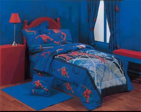 10 Amazing Themed Kids Bedrooms--By the time Shawn was his bedroom was all  Spiderman. He had every Spiderman product on the market. He was very  spoiled! - 31 Best Spiderman Images On Pinterest Bedroom Ideas, Boy