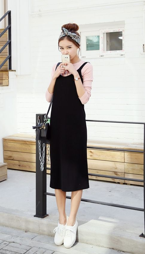 http://www.itsmestyle.com (Top Bun) I like the jumper with shirt underneath and head wrap with tennis shoes