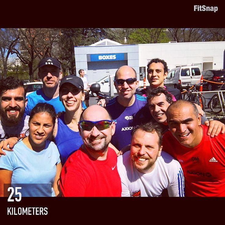 Hermosa mañana para correr! Ya queda menos para el gran objetivo del año: los 42k de Buenos Aires! Ahi vamos! #espiritupampa