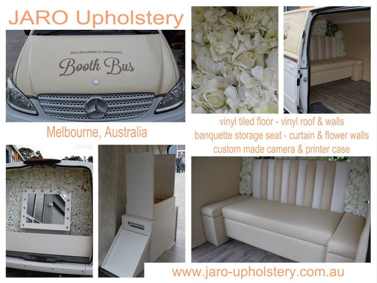 Booth Bus Upholstery by JARO - JARO UPHOLSTERY, Melbourne, Phillip Island, SE Melbourne, Pakenham & Gippsland