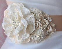 Шампанское и Кот Люкс Саш, свадебные пояса, Цветок Саш, горный хрусталь объявления Перл - Эмили