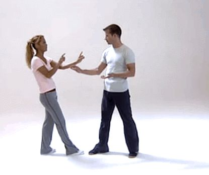 "fitnessua: ""Self defense : Christa Wagner - Blitzdefence (x) """