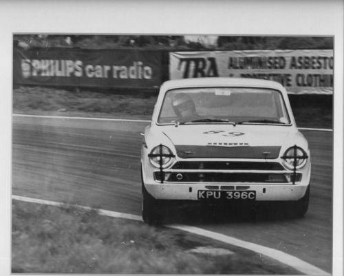 Lotus Cortina Jim Clark
