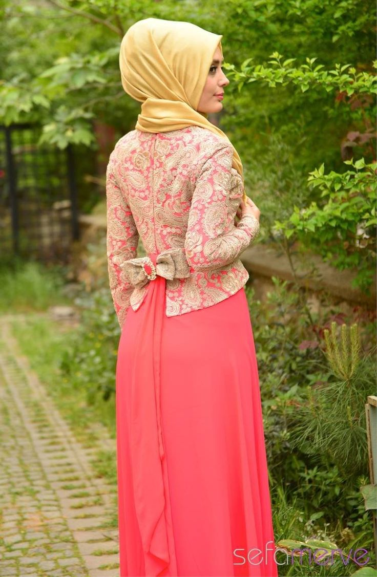 Sefamerve Abiye Elbiseler PDY 4242-01 Nar Çiçeği
