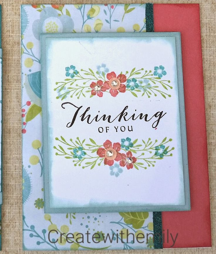 Create with Emily: #ctmh blossom so happy we're friends card