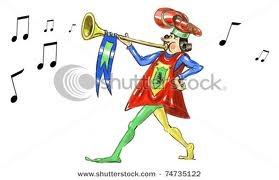 illustration trumpet royal herald - Google Search
