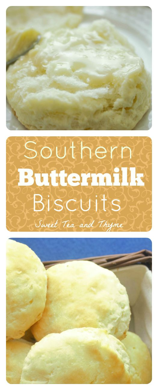 Authentic Southern Fluffy, Flaky Buttermilk Biscuits   – Bread