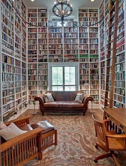 Ich werde viele Bücher lesen