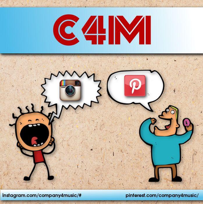 Instagram + Pinterest