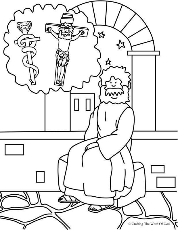 Nicodemus 2 coloring page day 3