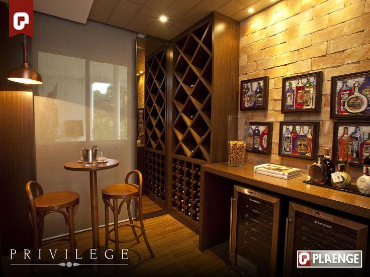 Adega - Privilege | Curitiba - Plaenge Empreendimentos