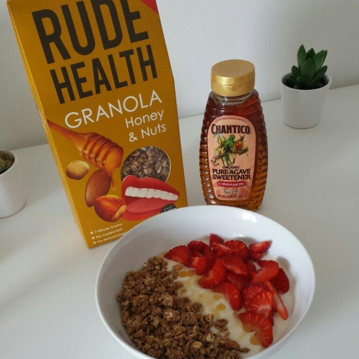 Breakfast Idea #5: Rude Health Honey & Nut Granola with ...