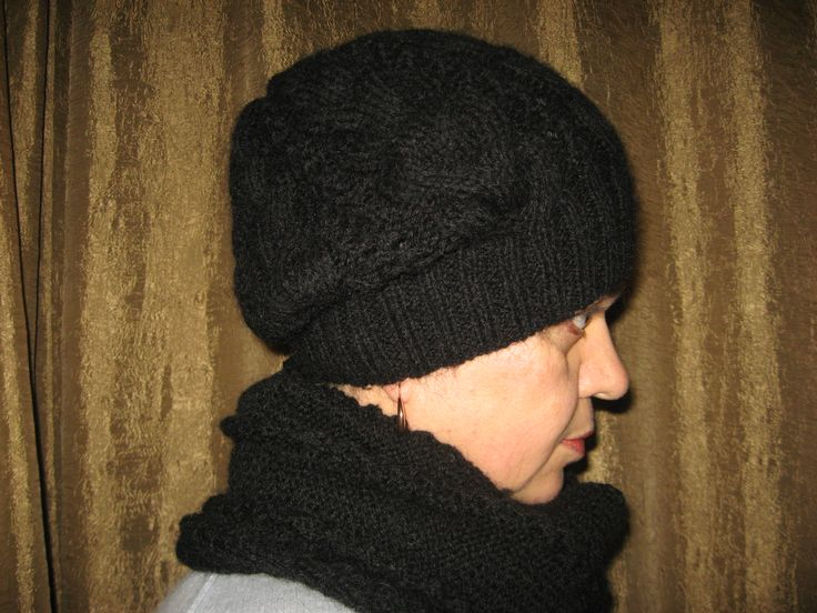 hat and scarf for cold winter