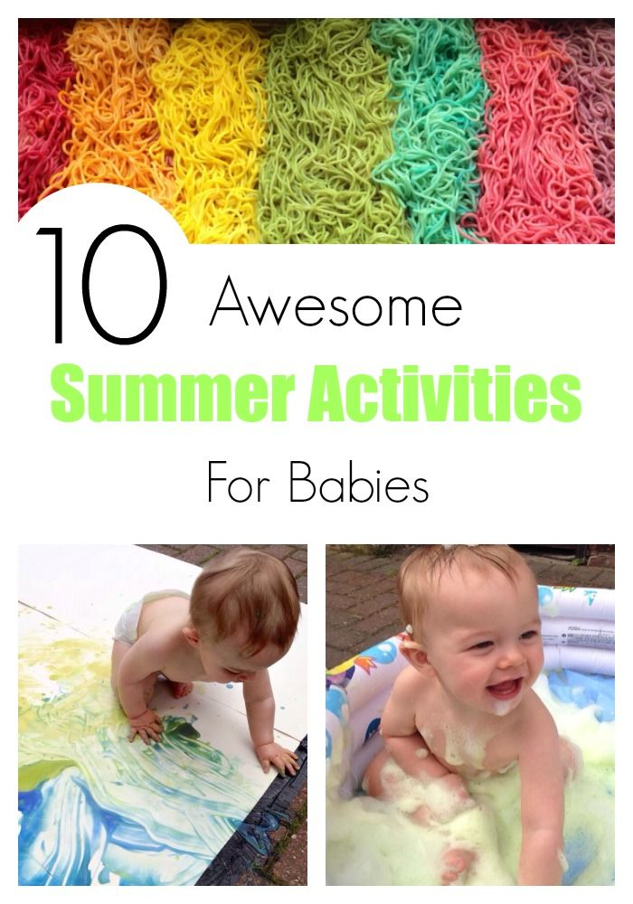 10 Awesome summer activities for babies