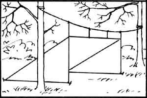 How to Make and Pitch Tarp Shelters
